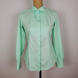 Brooks brothers light green button down